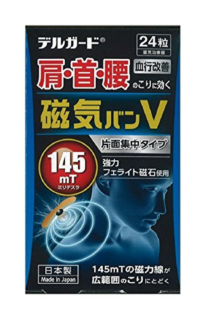 ヨーロッパ石膏うそつきデルガード 磁気バンV 24粒