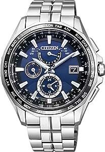 [シチズン]CITIZEN 腕時計 ATTESA アテッサ Eco-Drive エコ・ドライブ 電波時計  クロノグラフ AT9090-53L メンズ