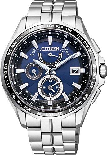 [シチズン]CITIZEN 腕時計 ATTESA アテッサ エコ・ドライブ電波時計 AT9090-53L メンズの詳細を見る
