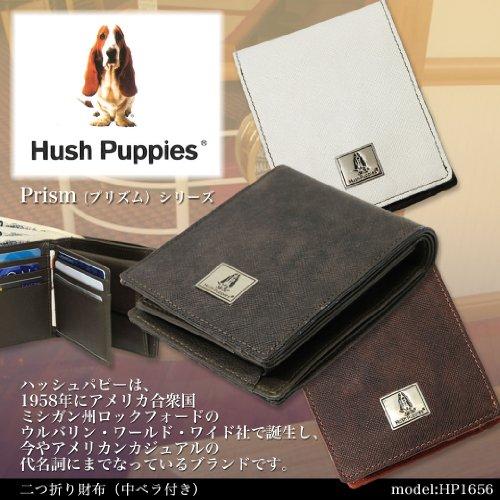 63da4495eca1 二つ折り財布 Hush Puppies ハッシュパピー va- hp1656-suna 小銭入れ付 折
