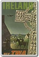 Ireland, Europe - Vintage Travel Fridge Magnet - ?????????