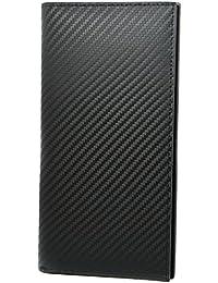 (ブリスレザー) BlissLeather 【最高峰のイタリア製カーボンレザー】薄型 本革 二つ折り 長財布 大容量 ボックス付き 10188