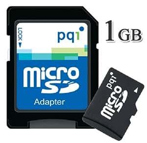PQIアダプタ付microSDカード 1GB MRSDB2-1G