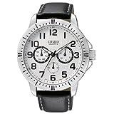 Citizen シチズン クオーツ Day-Date Sports Men's Watch - AG8310-08A 男性用 メンズ 腕時計 (並行輸入)