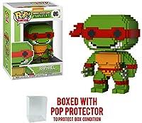 8ビットFunko Pop 。Teenage Mutant Ninja Turtles–Raphael Vinyl Figure (バンドルwith Popボックスプロテクターケース)