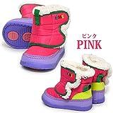 (イフミー) IFME 30-7718 子供 キッズ ベビー ショート ブーツ (12.0cm, ピンク)