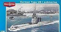 PLASTIC MODEL BUILDING KIT GERMAN TYPE UB-1 SUBMARINE 1/144 MICRO-MIR 144-016