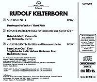 Kelterborn;Sinfonie IV/Cell