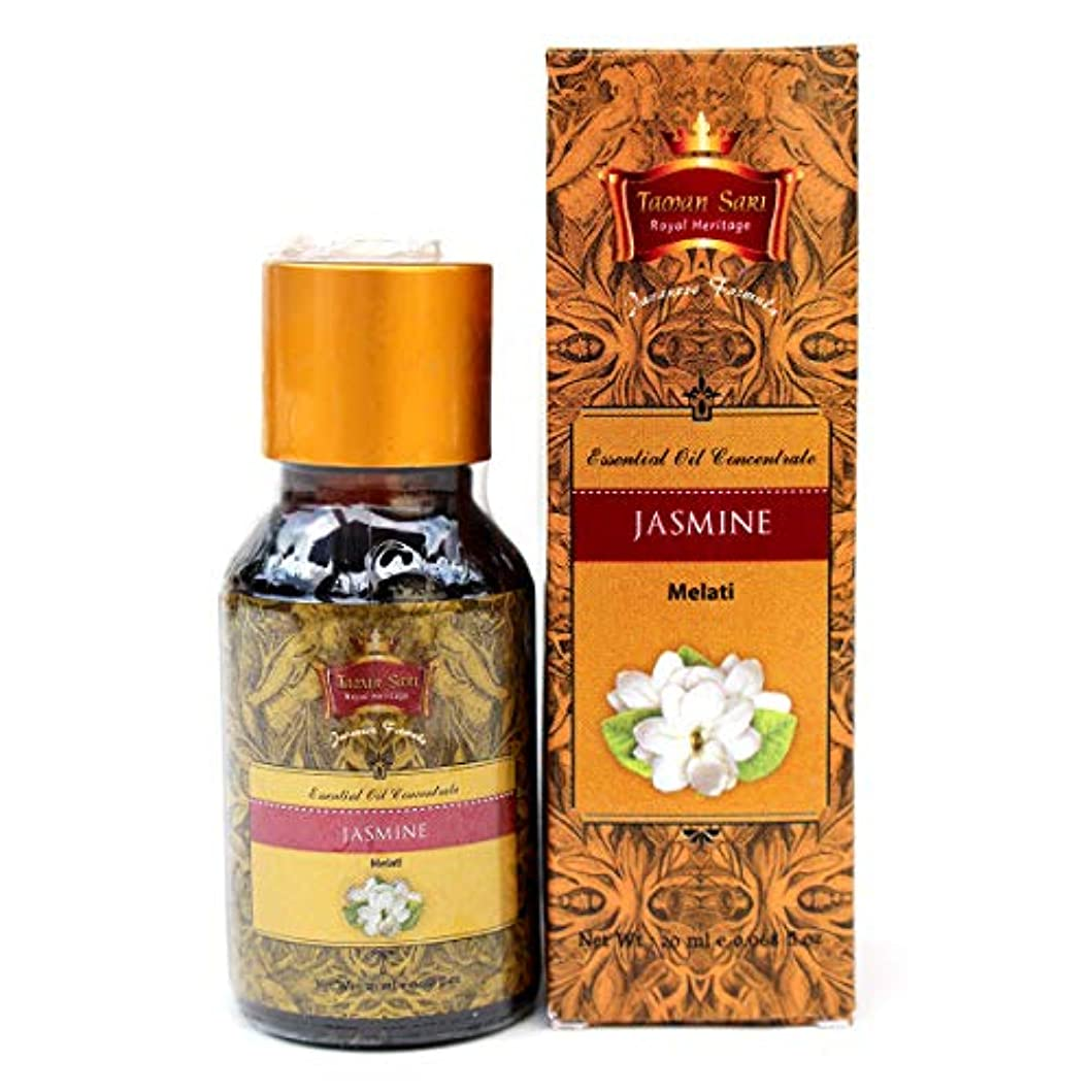 期限サイバースペース美容師Taman Sari タマンサリ エッセンシャルオイル ムスティカラトゥ高級スパブランド Jasmine ジャスミン 20ml