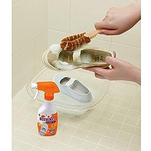 【まとめ買い】 おひさまの洗たく くつクリーナー 液体洗剤 靴 洗剤 スプレー泡タイプ つめかえ 200ml×3個