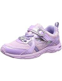 [シュンソク] 運動靴 通学履き 瞬足 ねじれ防止 軽量 19~24.5cm 1E キッズ 女の子 LEJ 5370 ラベンダー 20.5 cm E