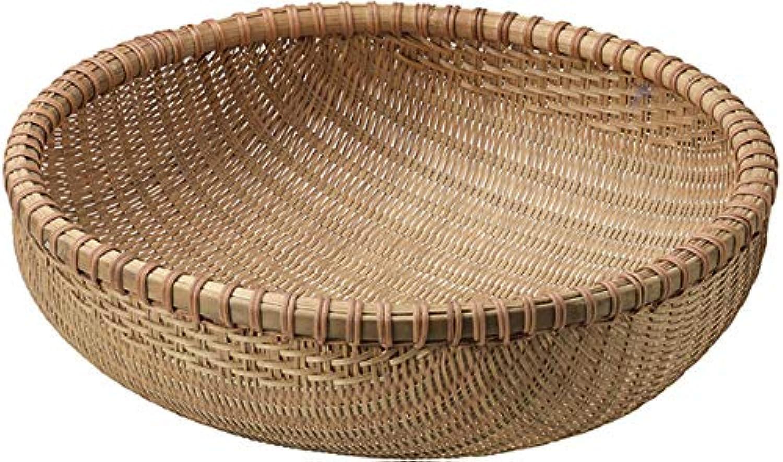 『竹』丸タイプバスケット「48×16cm」
