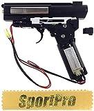 CYMA製 CM02 電動ハンドガン AK用 メカボックスセット モーター付 メタル製 - シルバー