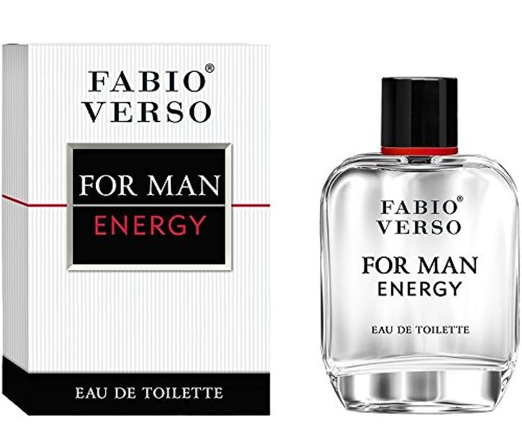 ◆【FABIO VERSO】メンズ香水◆ファビオヴァーソ エナジー フォーメン オードトワレEDT 50ml◆