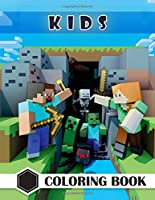 Kids Coloring Book: Mindcraft Coloring Book, Fun Coloring Books for Kids