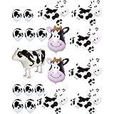 Agreatca カウバルーン パーティー 農場 動物 牛 テーマ 誕生日パーティー用品 誕生日 BBQ パーティーデコレーション