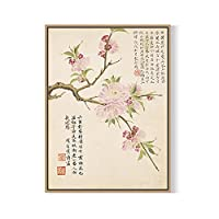 BAGEHA の壁絵の壁の芸術の新しい中国書道・絵画のエレガントなリビングルーム、レストランの壁画の装飾的な絵画、 60 X 80,9