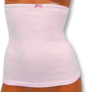 (フクスケ)福助 レディース 袋編みはらまき (199)クリスタルピンク M-L 61-6006
