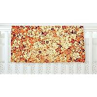 KESS InHouse Ebi Emporium Flower Power in Orange Red Floral Fleece Baby Blanket 40 x 30 [並行輸入品]