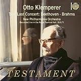 Last Concert: Beethoven & Brahms