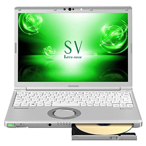 12.1型ノートPC Let's note レッツノート SV シルバー CF-SV7MFRQR パナソニック(Panasonic) パナソニック CFSV7MFRQR