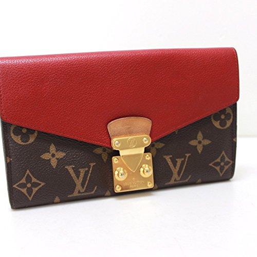 (ルイ・ヴィトン)LOUIS VUITTON M58414 ポルトフォイユ・パラス モノグラム 2つ折り長財布 長財布(小銭入れあり) モノグラムキャンバス/カーフレザー レディース 中古