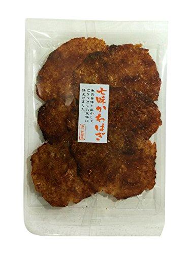 上野珍味 七味かわはぎ 135g