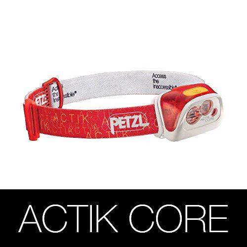 PETZL(ペツル) ACTIK CORE アクティック コア E99AB 350ルーメン レッド  [並行輸入品]