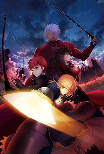 【Amazon.co.jp限定】Fate/stay night [Unlimited Blade Works] Blu-ray Disc Box I(メーカー早期予約特典:武内崇描き下ろしイラストA3タペストリー付)(描き下ろしB1布ポスター、CDサイズスチールケース付)(完全生産限定版) -