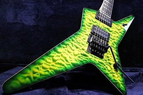 David Thomas McNaught Guitars StaRR Diamond Quilt Top / Reptile Burst
