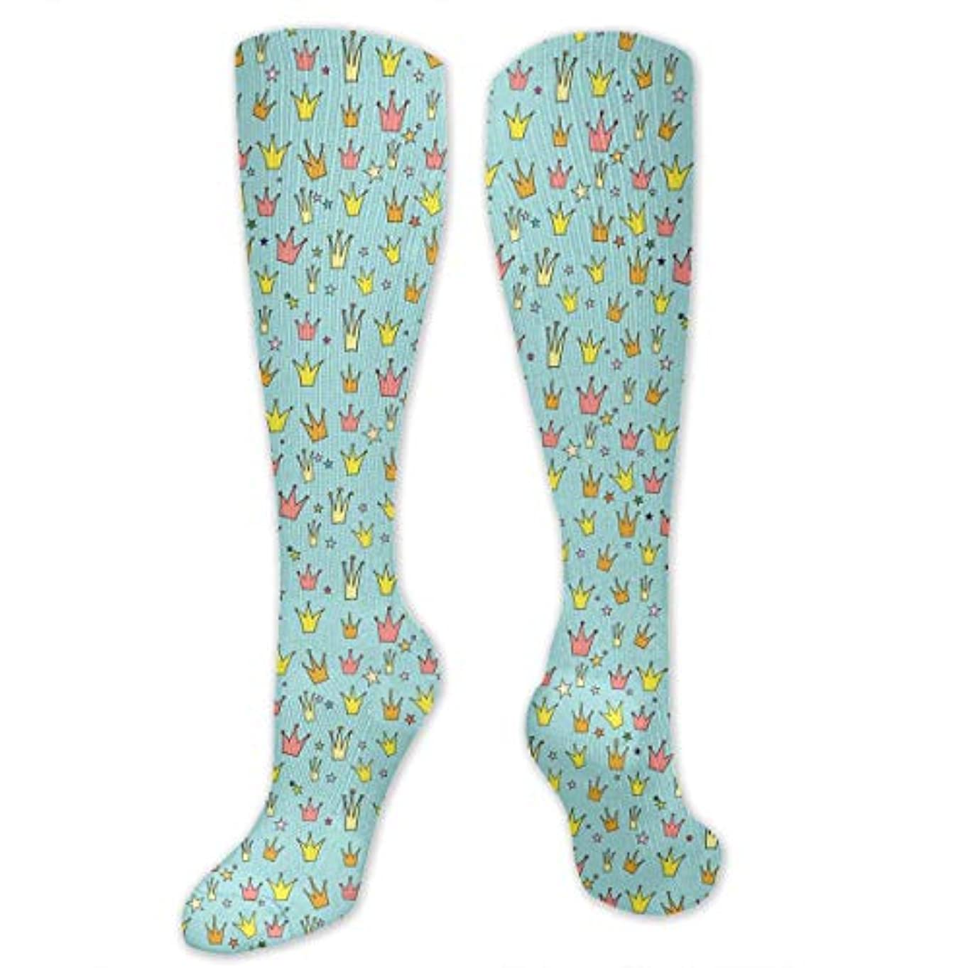 熟読する変位暗殺する靴下,ストッキング,野生のジョーカー,実際,秋の本質,冬必須,サマーウェア&RBXAA Crown Princess Socks Women's Winter Cotton Long Tube Socks Cotton...