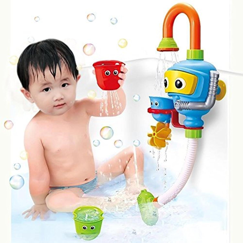 ベビーバスシャワーおもちゃ、ダイバースプレーおもちゃスプレーステーションバスタブおもちゃ - いいえバッテリー電源不要