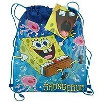 New Sponge Bob Non Woven Sling Bag with Hangtag by Nickelodeon [並行輸入品]