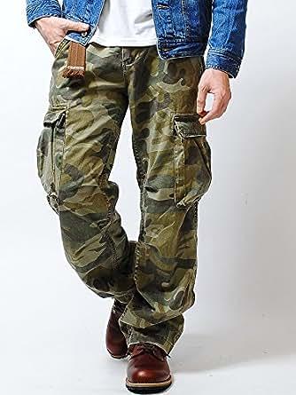 リアルクラッシュクロージング (REAL CRUSH CLOTHING) ヴィンテージ カーゴパンツ (M, CAMO)