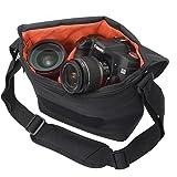 ETSUMI カメラバッグ ベリーM 5.9L ジェットブラック E-3336