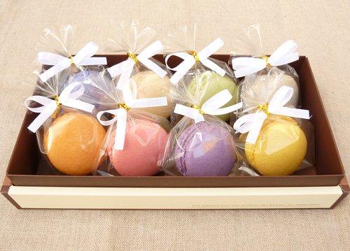 天使がくれたマカロン 8個入 プチギフト リボン付き個包装 内祝い 誕生日 マカロン ギフト スイーツ お菓子 詰め合わせ