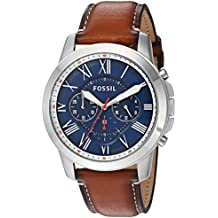 Fossil Men's Grant Analog quartz Brown Watch, (FS5210)