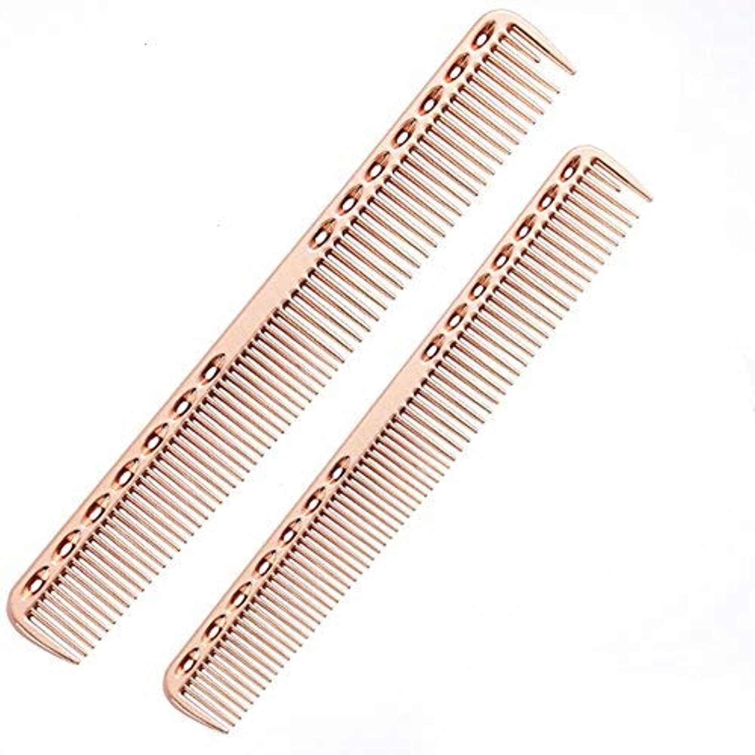 SMITH CHU Professional Space Aluminum Dressing Combs for Women - Best Styling Comb for Long,Wet or Curly, Reduce...