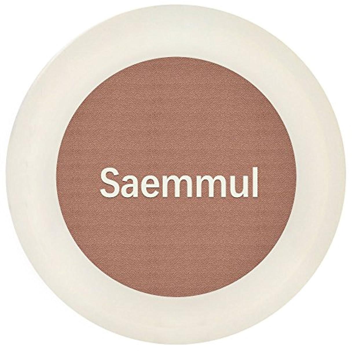 租界アスレチックボトルネック【the SAEM(ザ セム)】センムル シングル シャドウ (マット) I (7カラー選択1) (BR01)