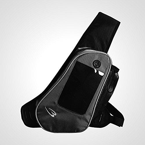 ボディメーカー(BODYMAKER) ランニングボディバッグ ブラック BR031BK