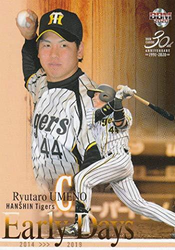 BBM 2020 117 梅野隆太郎 阪神タイガース (レギュラーカード/Early Days) ベースボールカード ルーキーエディション