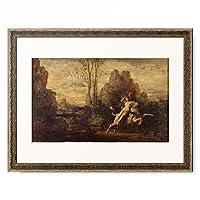 ギュスターヴ・モロー Gustave Moreau 「L'enlevement d'Europe」 額装アート作品