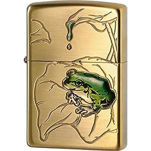 ZIPPO(ジッポー) ライター 蛙 真鍮古美・63430298