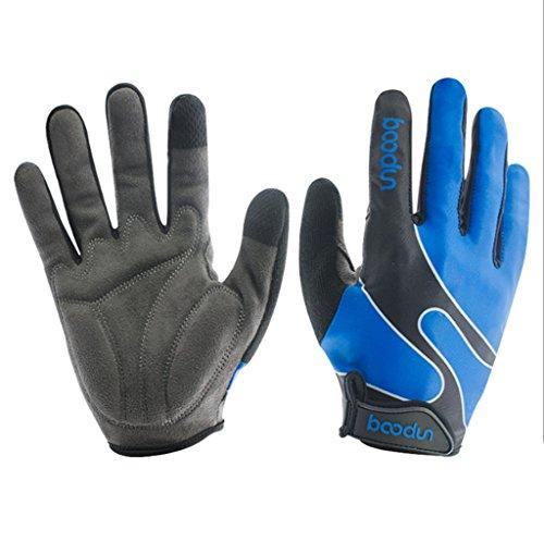 [해외]Unafreely 자전거 장갑 방한 방풍 스마트 폰 대응 풀 핑거 겨울 장갑 가을에 겨울 자전거 장갑 사이클 장갑 자전거 트레킹 등산 장갑 남성 여성/Unafreely Bicycle gloves Anti-cold wind-resistant smartphone Full finger winter glove for autumn...