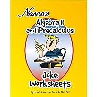 Nasco TB20656T代数IIおよびPrecalculus Jokeワークシート、61ページブック、9年生