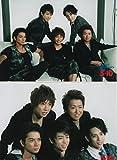 嵐 ARASHI 公式写真 2009年 5×10 【集合】 2枚 A -