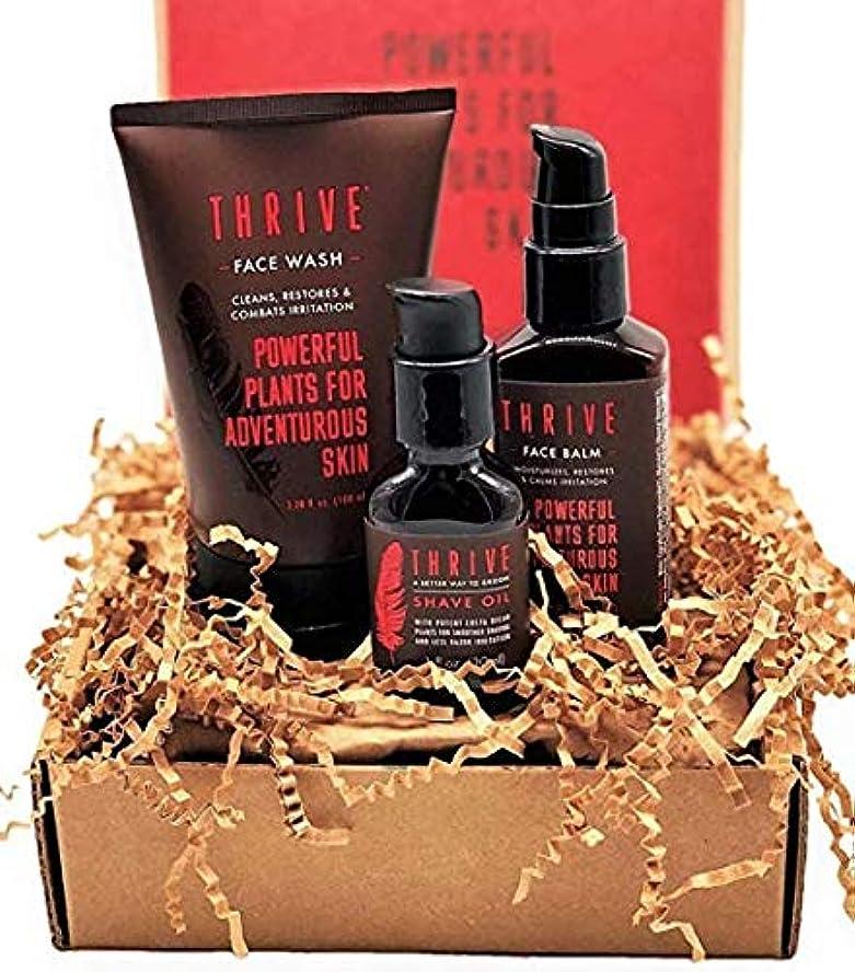 実験室寝室を掃除する雑草Thrive Natural Men's Growing Kit – 毎日3ピースのグルーミングギフトセット,オーガニック&ユニークなプレミアム天然成分を使った米国製男性用ギフトセット,Thrive Natural Men's...