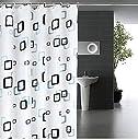 JPpro シャワーカーテン 防水 防カビ 加工 浴室 カーテン 風呂カーテン 防水 間仕切り 遮像 リング付属 厚手 取り付け簡単 150×180cm 180×180cm 2デザイン (チェック柄S)