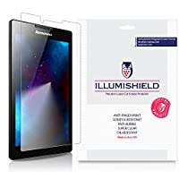 Lenovo Tab 2スクリーンプロテクター( a7 – 10、a7 – 30 ) [ 3 - Pack ]、iLLumiShield – Japanese Ultra Clear HD Film with気泡防止、指紋防止Invisible Shield