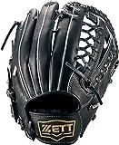 ZETT(ゼット) 野球 軟式 外野 グラブ(グローブ) ネオステイタス (左投げ用) BRGB31617 ブラック